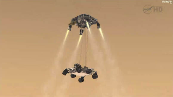 NASA Launches Nuclear Powered Mars Rover - YouTube