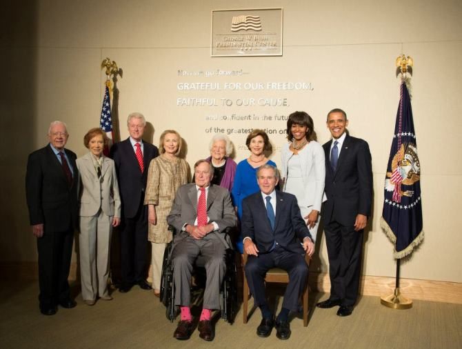 (21) Dedication of the George W. Bush Presidential Center