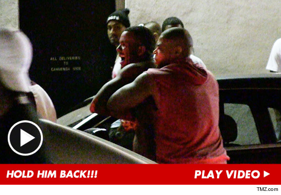 The Game -- SHIRTLESS RAGE ... After Fight Breaks Out at Hollywood Club [Video] - YouTube