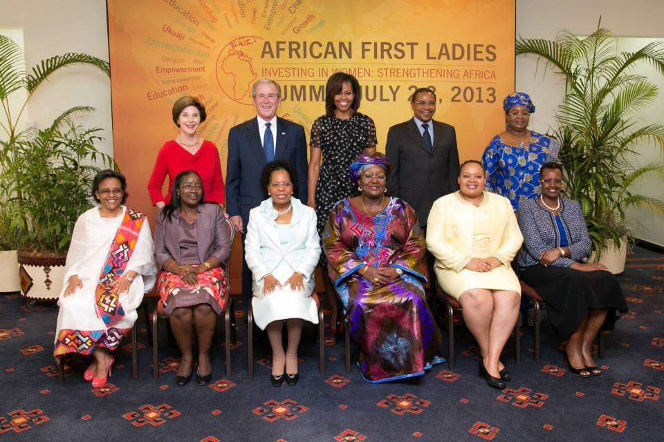 (97) African First Ladies Summit 2013