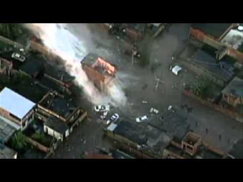 Raw: Deadly Water Main Explosion in Brazil - YouTube