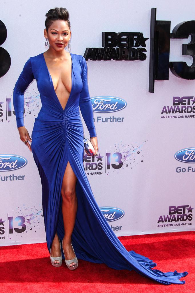 Meagan Good Responds to Critics of Revealing BET Awards Dress